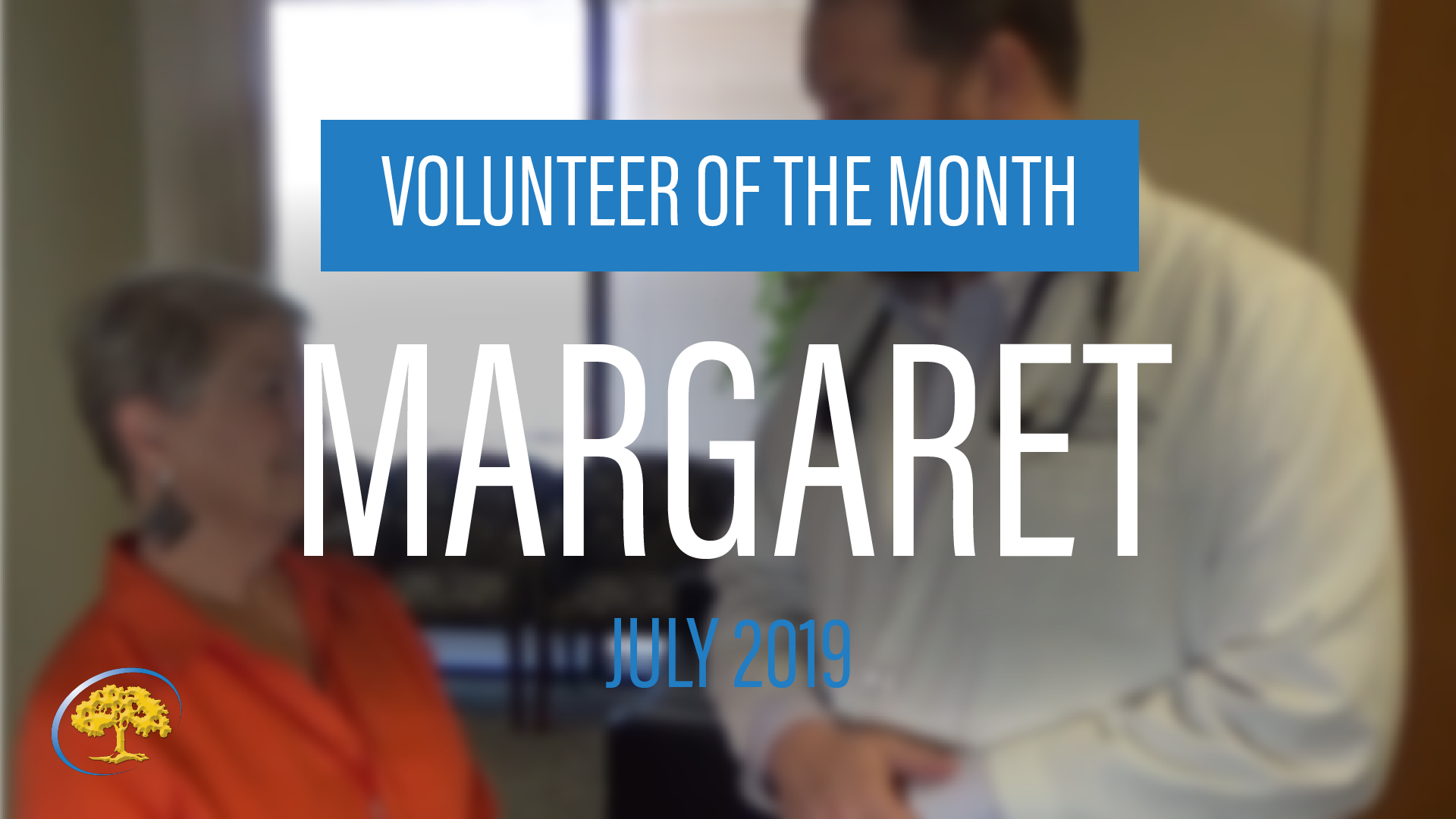 Volunteer of the Month Margaret