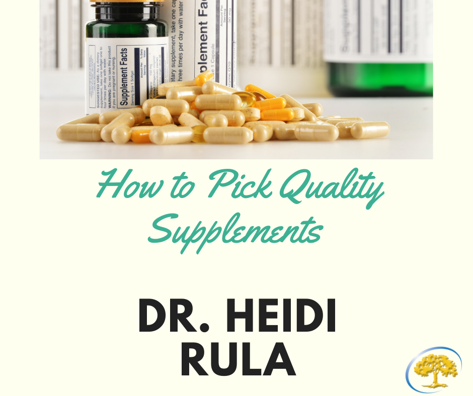 HOW TO PICK QUALITY SUPPLEMENTS