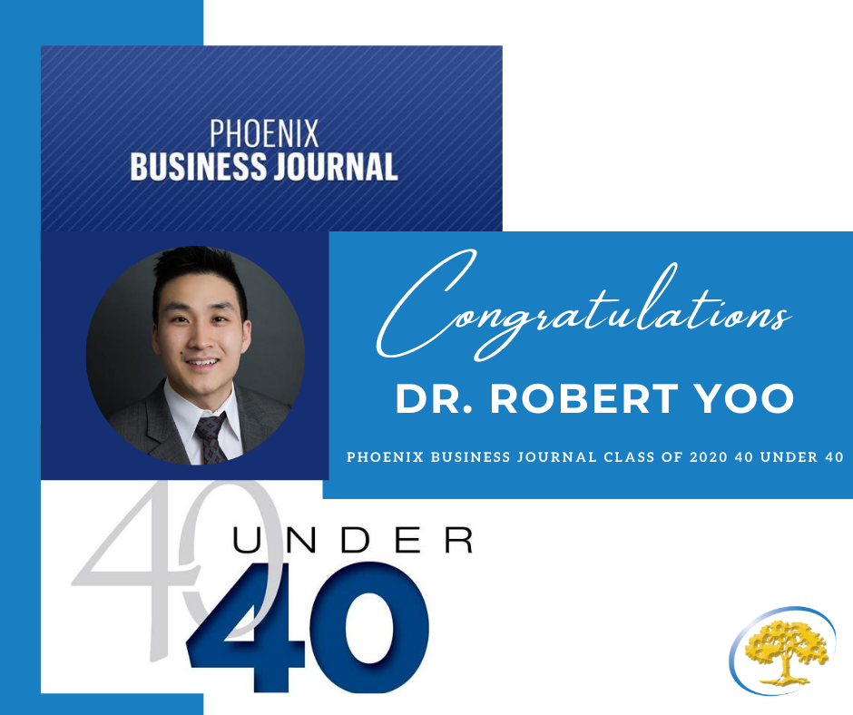 Dr. Robert Yoo Honored by Phoenix Business Journal