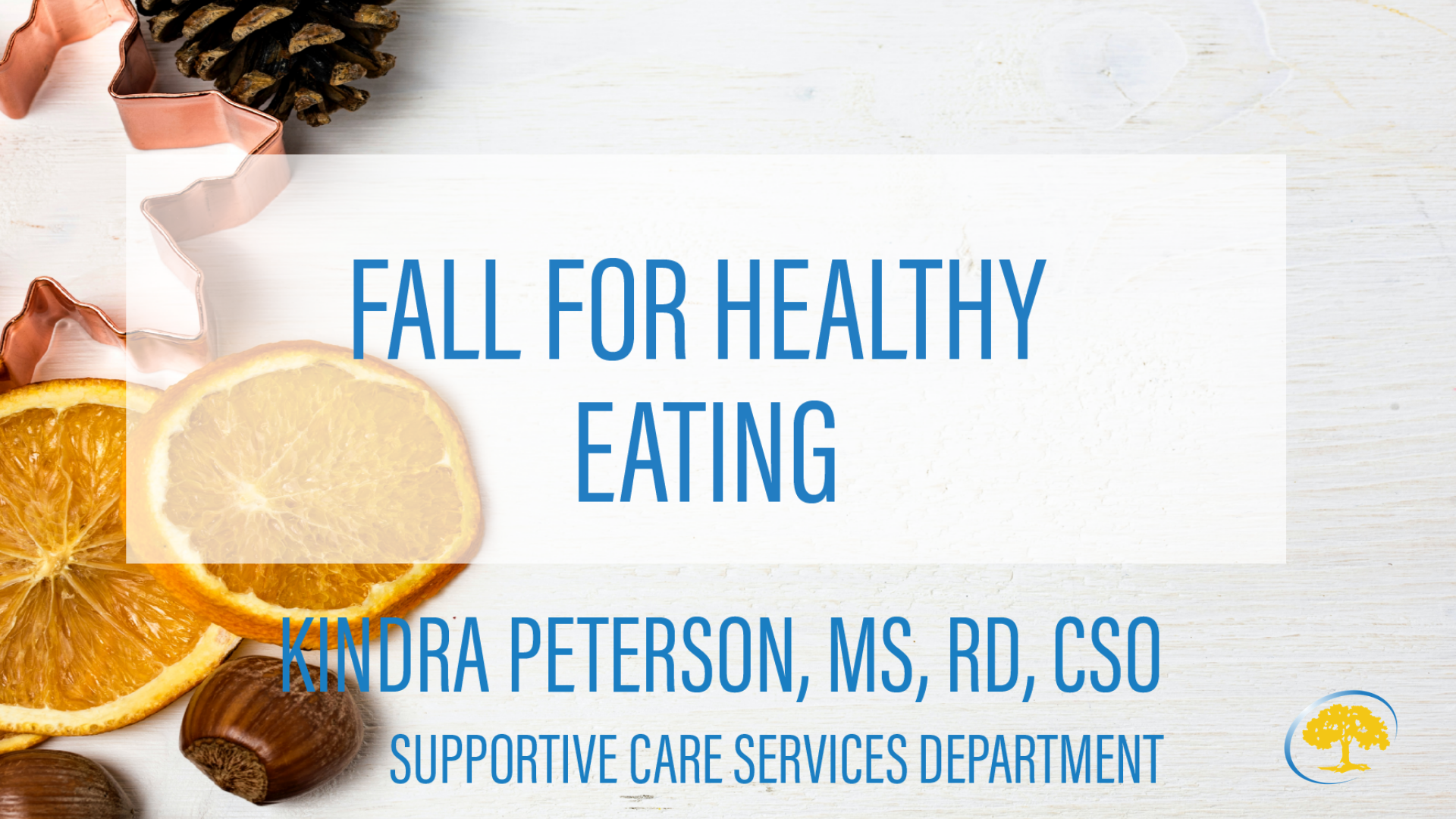 fall fOR HEALTHY EATING