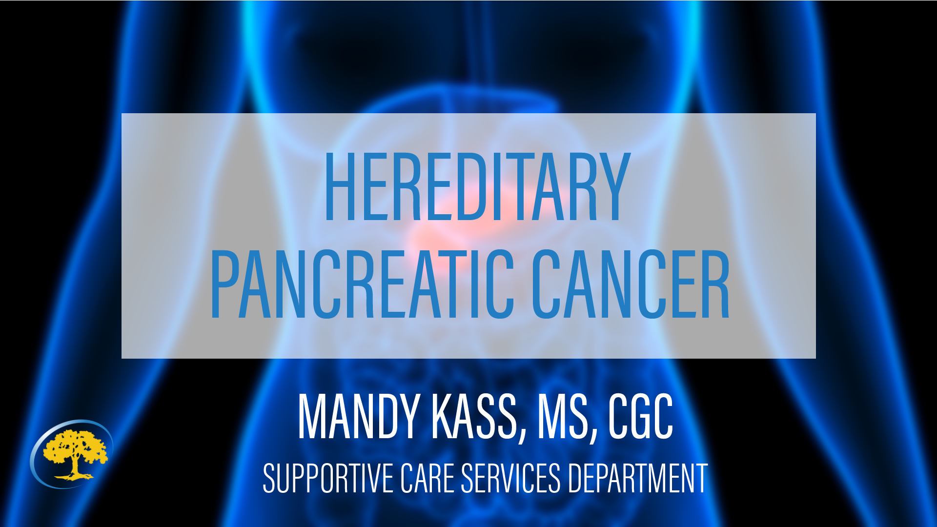 Hereditary Pancreatic Cancer