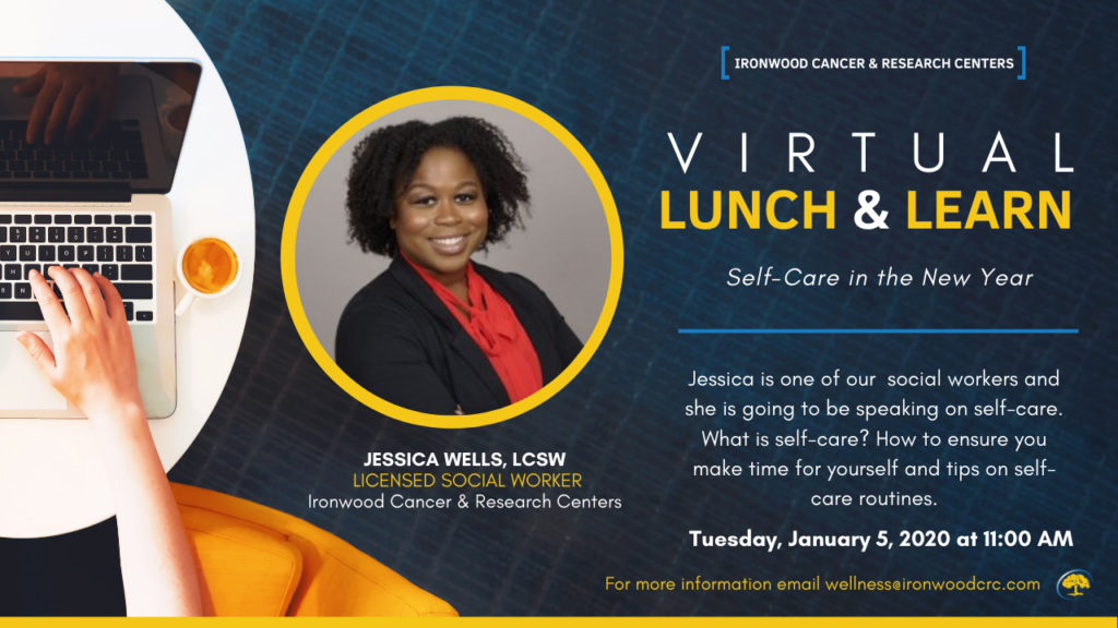SCS Lunch & Learn: Self Care in the New Year